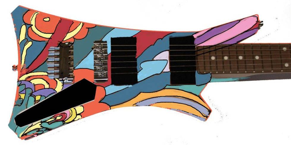 The Guitar Designstudie Front